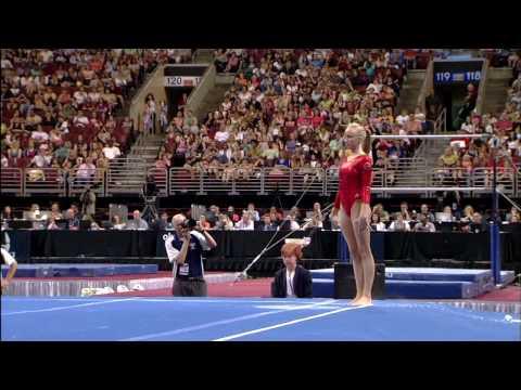 Nastia Liukin - Floor Exercise - 2008 Olympic Trials - Day 2