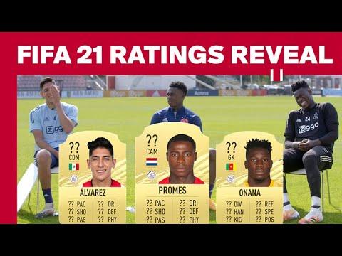 FIFA 21 RATINGS REVEAL – Ajax Edition | Onana, Promes & Álvarez react on their ratings
