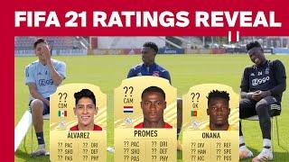 FIFA 21 RATINGS REVEAL - Ajax Edition | Onana, Promes & Álvarez react on their ratings