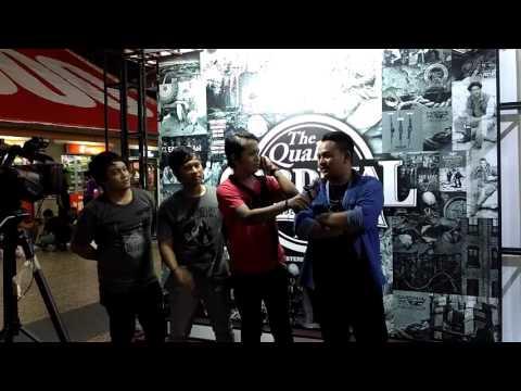 Sensitive band interview after perform Cardinal stage of soul PRJ Kemayoran