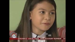 Very Touching & Inspiring Interview of  GRETCHEN FULLIDO on LYCA GAIRANOD - Courtesy of TV PATROL.