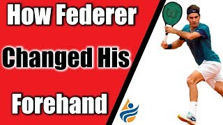 How Roger Federer Changed his Forehand and Won Slams Again