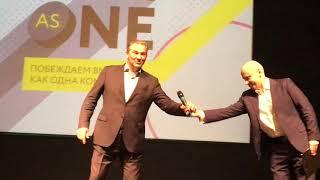 Смотреть видео Вступление Владислав Третьяк президент Федерации хоккея России онлайн
