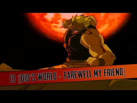 JoJo's Bizarre Adventure OAV HD - 13 [Dio's World - Farewell My Friend]