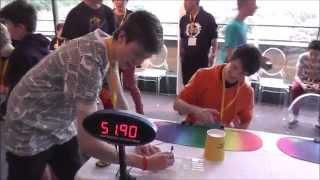 5x5 rubik s cube former world record average 55 10 seconds