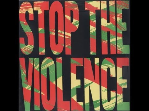 """RARE 1988 SPECIAL REPORT: """"STOP THE VIOLENCE MOVEMENT"""""""