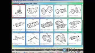 видео Запчасти для Daihatsu, электронный оригинальный каталог запчастей Daihatsu
