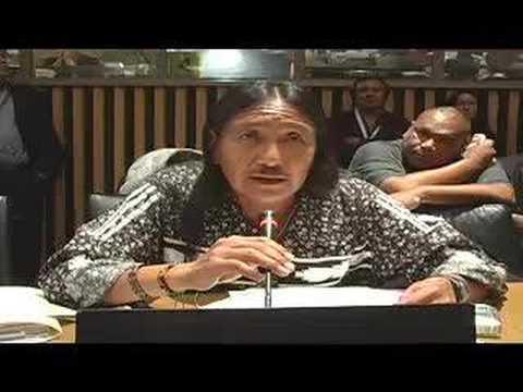 UN Permanent Forum On Indigenous Issues 2008 Announcement
