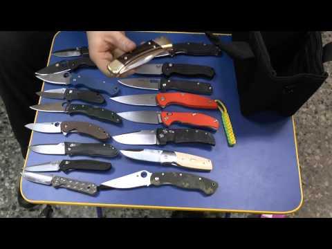 Выбор складного ножа: EDC, Лес и EDC-Лес