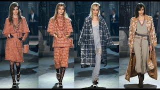 Коллекция одежды показ Chanel осень-зима 2017/2018