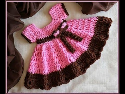 Beautiful Crochet Baby Frock Collection Youtube
