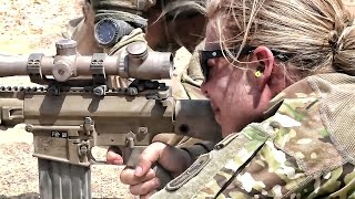 U.S. Army Sniper Candidates In Training • Djibouti Africa