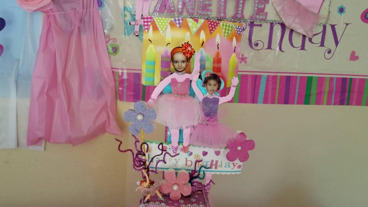 Como decorar una fiesta estilo bailarina ballet youtube - Como decorar una mesa para una fiesta ...
