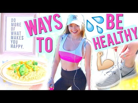 10 Ways to Get Healthy & Fit this Year! 2016 | Meredith Foster