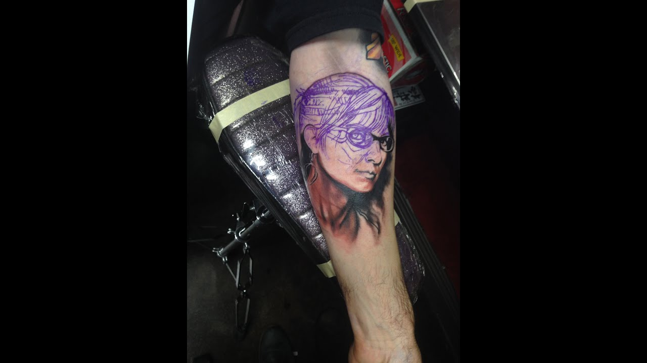tattooing project 1 reese color realism