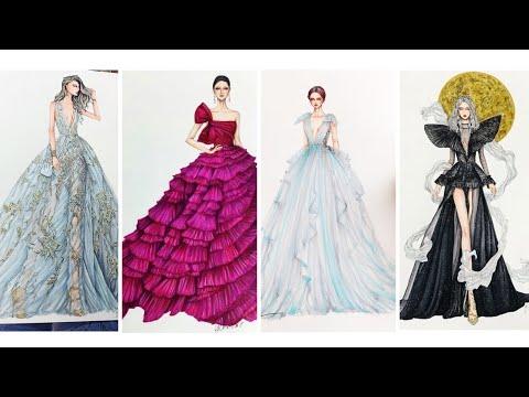 Thiết Kế Thời Trang/Bản Thiết Kế Tuyệt Đẹp Của Berta,Valientino/Fashion Designer