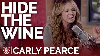 Carly Pearce - Hide The Wine (Acoustic) // The George Jones Sessions