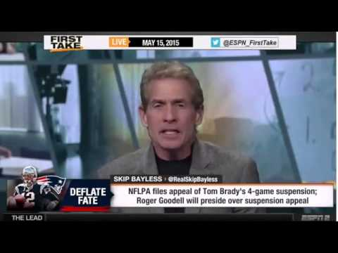 ESPN First Take | Roger Goodell to Preside Over Tom Brady's Appeal of Deflategate Suspension
