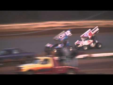 Susquehanna Speedway Park 410 and 358 Sprint Car Highlights 11-12-11