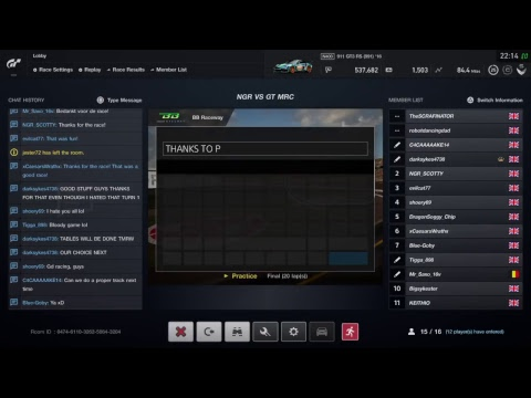 NXTGEN GT Sport TvT against GTS MRC LIVE