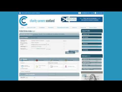 How to post a job to Charity Careers Scotland