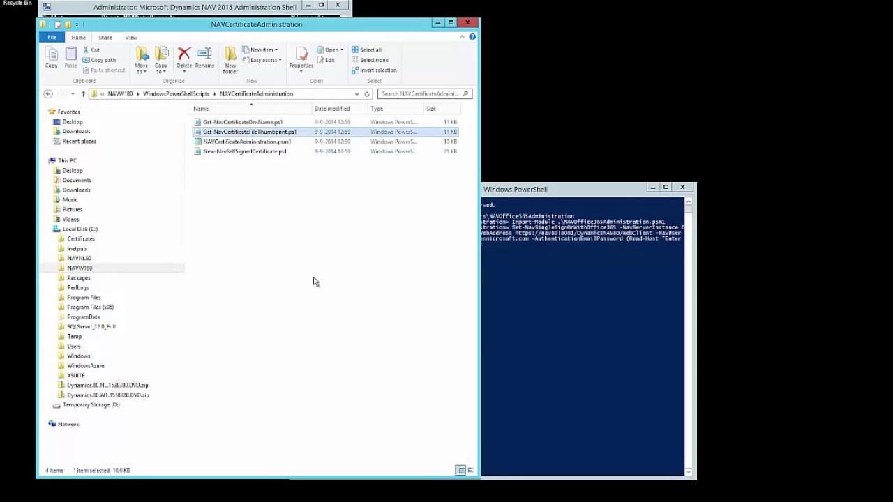Dynamics Nav 2015 How Do I Set Up Office 365 Single Sign On In