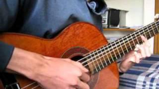 En estos dias (cover instrumental) Silvio Rodriguez por Andrez Rivera