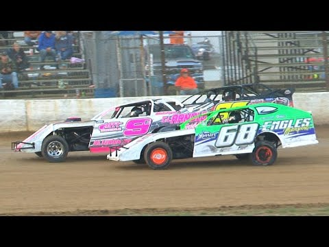 E-Mod Heat Two at Stateline Speedway (Busti, NY) on Saturday, August 31st, 2019! Stateline Speedway: http://newstatelinespeedway.com. - dirt track racing video image