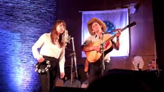 "Alynda Lee Segarra (Hurray for the Riff Raff) and Sam Doores: ""Be My Baby"" @ Newport RI 2014"