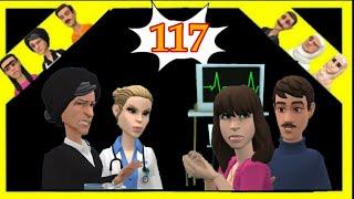 الحلقة(117)اسما جاها لوجع ومشات للسبيطار😜وسعيد مسكين ترون بهاد لخبار 😁