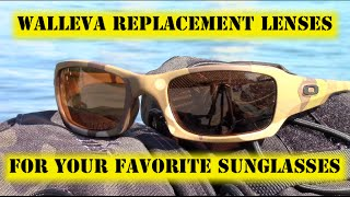 Walleva Replacement Sunglass Lenses For Your Favorite Sunglasses