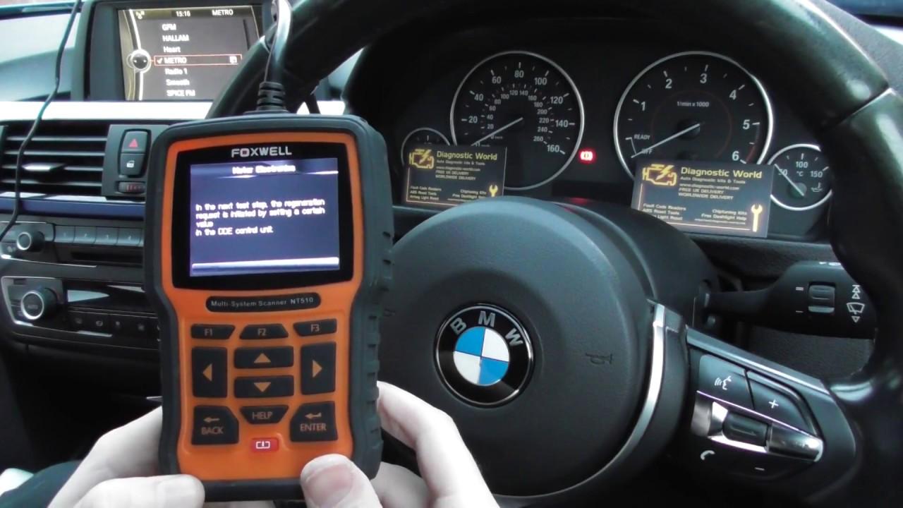 DPF Regeneration BMW & Mini Diagnostic Tool NT510 NT520