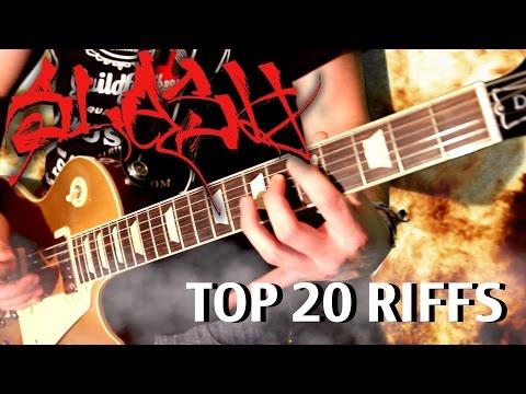 Top 20 Slash Riffs – Medley – Part 1