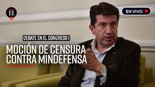 Diego Molano cerró filas en defensa del accionar de la Fuerza Pública en protestas  - El Espectador