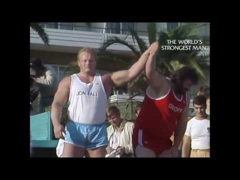 The World's Strongest Man Classics 1985: Capes wins his second title. The King is Not Dead!