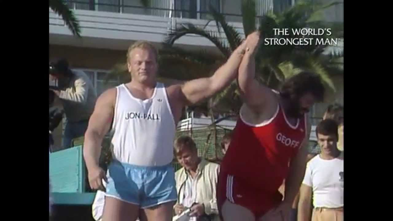 The Worlds Strongest Man Classics 1985 Capes Wins His Second Title