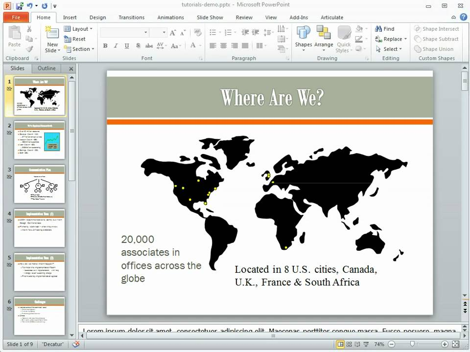 how to learn powerpoint 2010