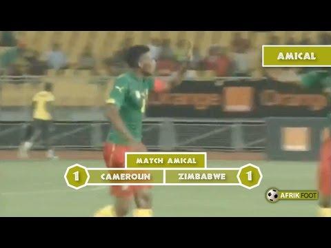 Cameroun vs Zimbabwe (1-1) - Match amical - Afrik Foot