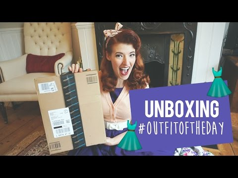 Cheap Retro Dress UNBOXING // #OutfitOfTheDay