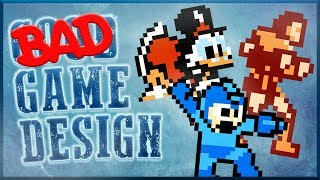 Bad Game Design - (Some) NES Games Video