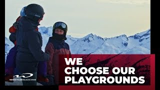 We Choose Our Playgrounds