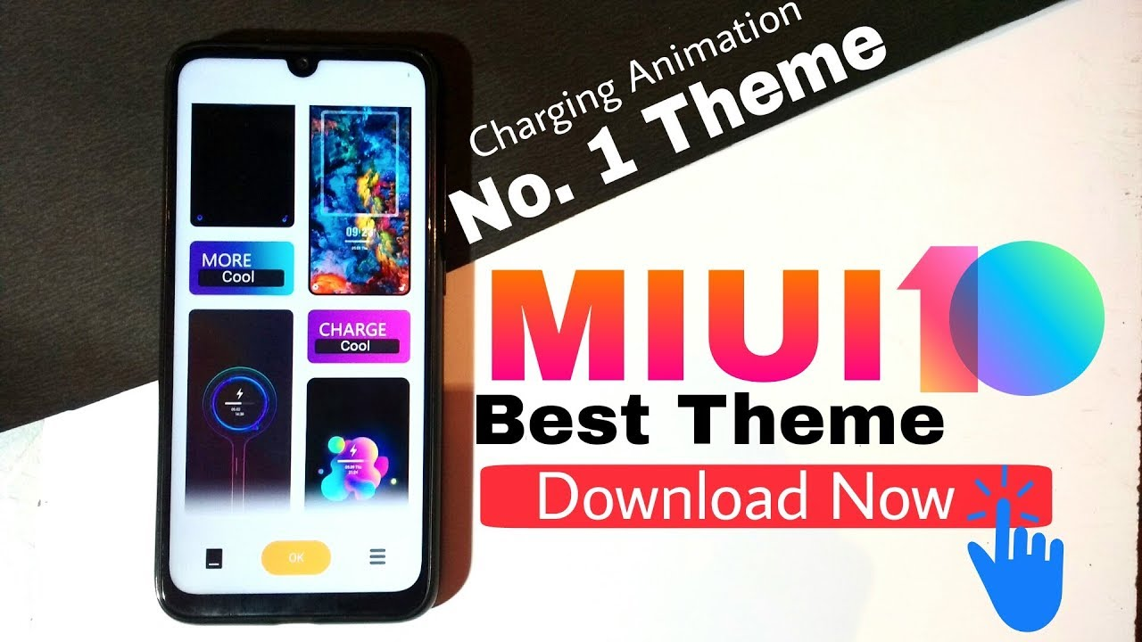 NO 1 THEME FOR MIUI 10 || Best Charging Animation🔥