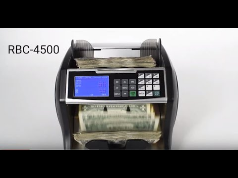 Royal Sovereign High Speed Bill Counter with Value Counting (RBC-4500)