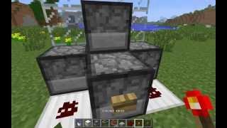 Как сделать мини-пушку MInecraft 1.5.2-1.8