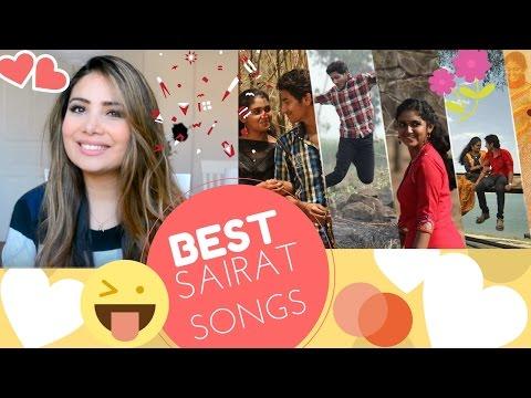 Sairat Songs Reaction Sairat Zhala Ji And...