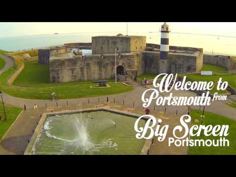 BIG SCREEN PORTSMOUTH: Welcome to Portsmouth (Feat. Southsea Castle)