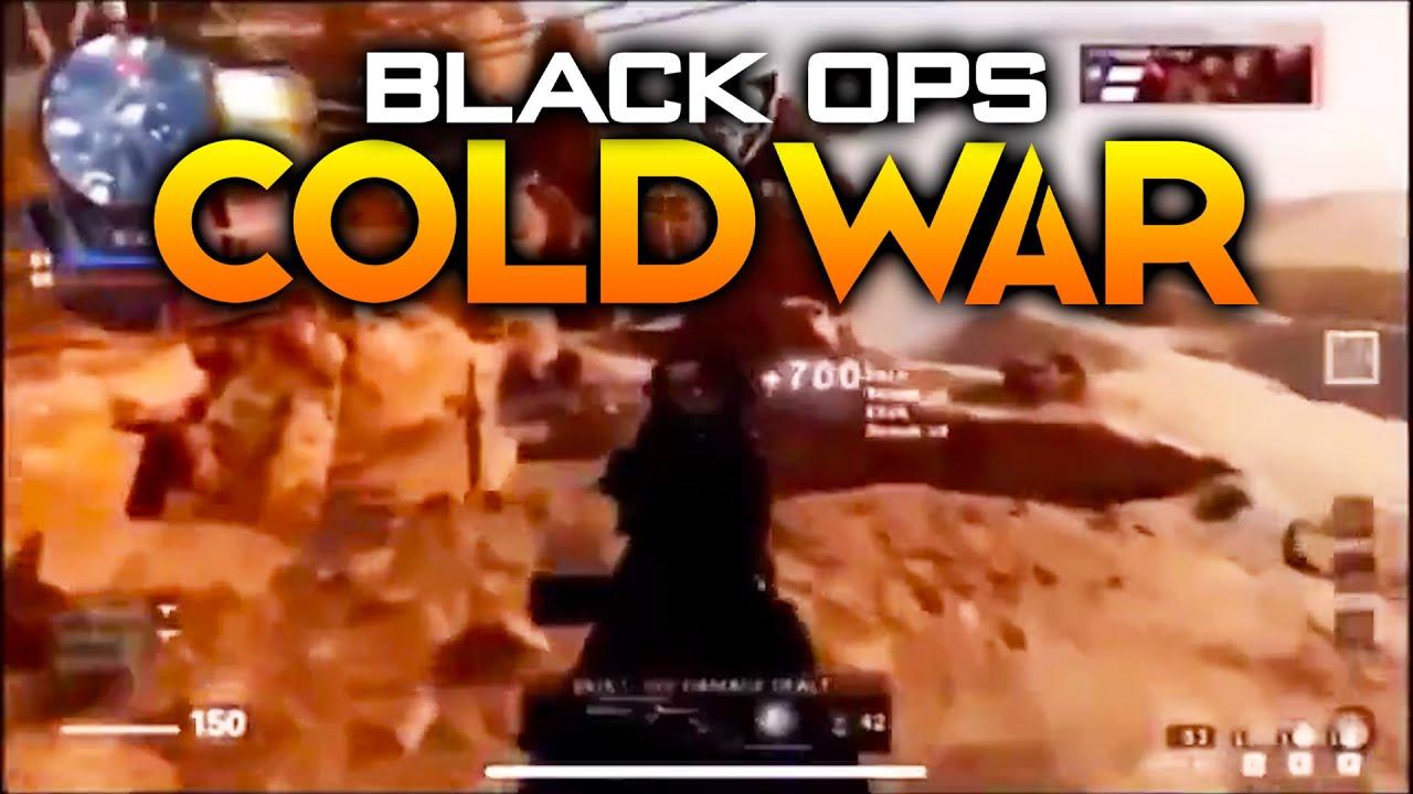 Black Ops Cold War Multiplayer Gameplay Leak Youtube