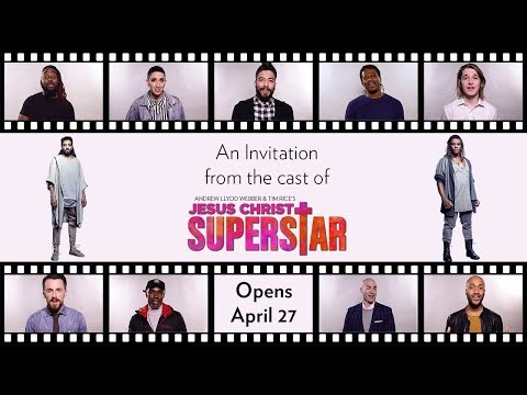 An invitation from the cast of JESUS CHRIST SUPERSTAR // Onstage at Lyric April 27