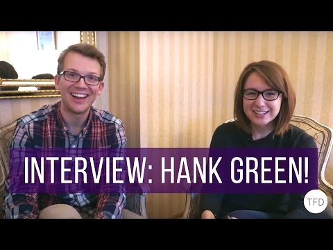An Interview With Hank Green