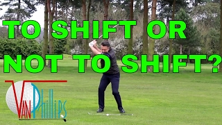 SHOULD WE SHIFT OUR WEIGHT  IN THE BACK SWING?
